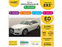 Audi A6 Saloon quattro SE FROM £93 PER WEEK!