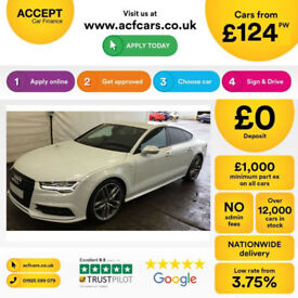 Audi A7 S Line FROM £124 PER WEEK!