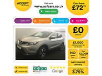 Nissan Qashqai FROM £72 PER WEEK!