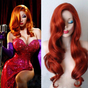 Jessica Rabbit Wig Long Curly - Never Worn!