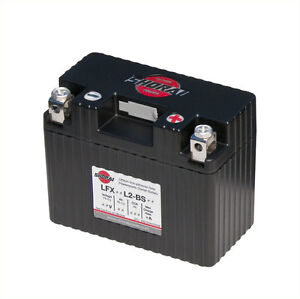 LITHIUM SHORAI BATTERY FOR MOTORCYCLES AND ATVS LFX14L2-BS12
