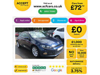 Volkswagen Scirocco FROM £72 PER WEEK!