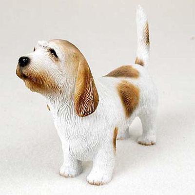 Petit Basset Griffon Vendeen Dog Figurine Statue
