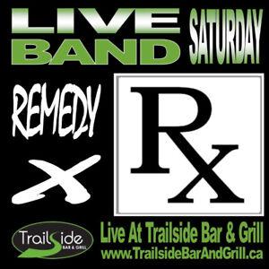 Live Bands - Trailside Ridgeway presents Remedy X