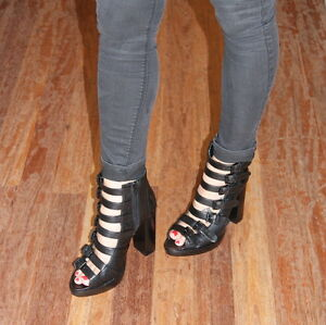 BEAU COOPS STRAP/BUCKLE SHOE SZ 37 WAS $399 NOW $199 1/2 ORIGINAL RRP!!!