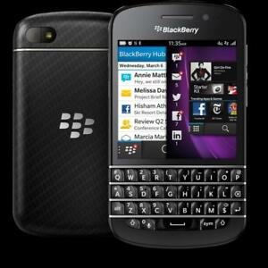 Blackberry Q10 (Unlocked) $85