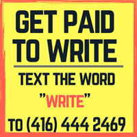 Writing Jobs Available   Text to Start Today!