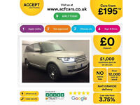 Land Rover Range Rover Vogue FROM £195 PER WEEK!