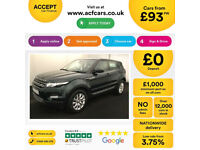 Land Rover Range Rover Evoque FROM £93 PER WEEK!
