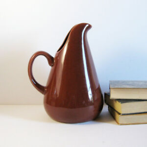 Russel Wright Ceramic Pitcher Oneida New Unused 80oz Water Jug