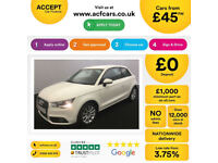Audi A1 FROM £45 PER WEEK!
