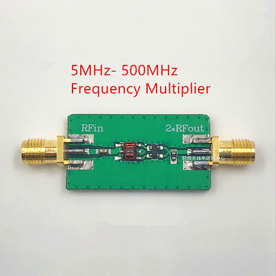 5mhz- 500mhz Frequency Multiplier Out 10mhz-1000mhz
