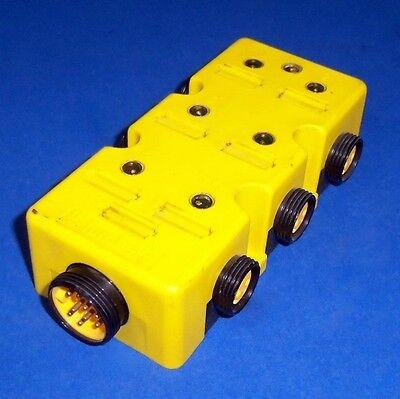 Lumberg 6-port 3-pole Mini Power Distribution Box Zlu 6l-30 Pzf