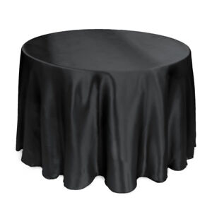Satin Round Table Covers - Event Decor - Table cloth -10%off