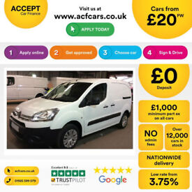 Citroen Berlingo FROM £20 PER WEEK!