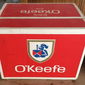 Beer Bottles 1967 O'keefe Beer Case and Ten Quart   OBO