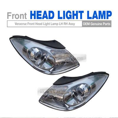 Genuine Parts Halogen Front Head Light Lamp LH RH for HYUNDAI 2007-2013 Veracruz