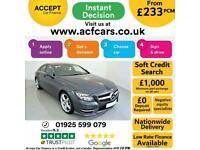 2014 GREY MERCEDES CLS250 2.1 BLUEEFFICIENCY AMG SPORT CAR FINANCE FR £233 PCM