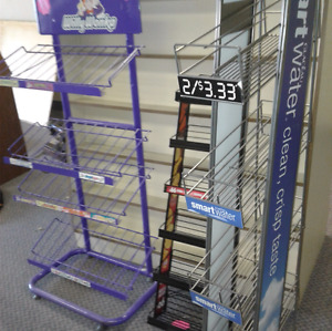 3 Set  Willie Wonka, Gum Rack, Water bottle rack