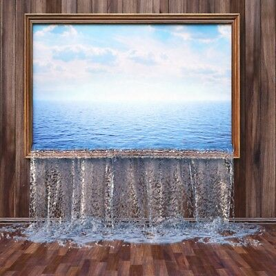 Справочный материал Three-dimensional Waterfull Room Backdrop