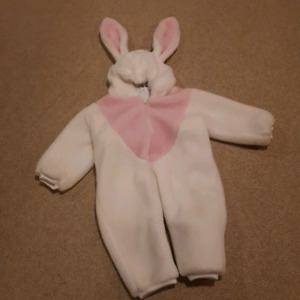 Bunny costume size 1-2 T