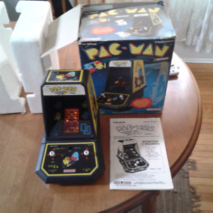 Vintage 1981 coleco PAC-MAN complete works great