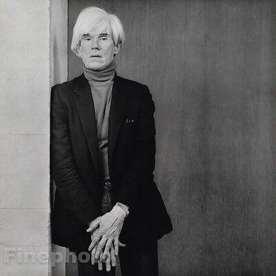 1983 Vintage ANDY WARHOL Portrait Pop Art Gay Artist 16x20 ~ ROBERT MAPPLETHORPE