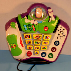 Disney Vtech Toy Story 3 Buzz Lightyear Talking Phone