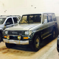 1991 Toyota Land Cruiser SUV, Crossover