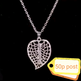 Jewellery Accessory Necklace Woman's Women's chain Silver Leaf