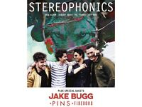 2 x Stereophonics reserved seated tickets on 9/6/18 at Cardiff City Stadium, Cardiff