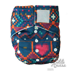 "Cloth Diaper "" La Petite Ourse"" FREE delivery for order over 80$"