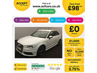 Audi S3 FROM £98 PER WEEK!
