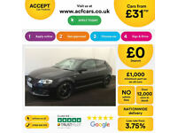 Audi A3 Black Edition FROM £31 PER WEEK!