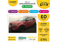 LAND ROVER R/R EVOQUE 2.0 TD4 SE TECH HSE DYNAMIC 4WD LUX 2W FROM £119 PER WEEK!