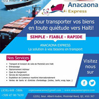 Anacaona Express: Location de containers
