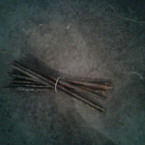 24 in steel stakes