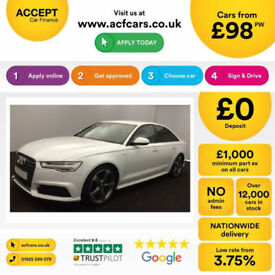 Audi A6 Saloon FROM £98 PER WEEK!