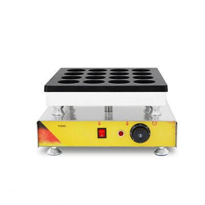 TECHTONGDA Nonstick Electric Red Bean Cake Baker Waffle Maker Machine 110V NEW