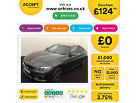 Grey BMW 430d M Sport coupe 4 door 2016 Auto FROM £124 PER WEEK!