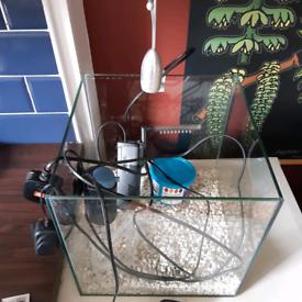 Glass Aqua Pendant 25l Fish Tank and Accessories
