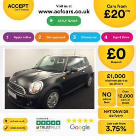 Mini First FROM £20 PER WEEK!