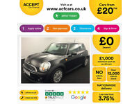 MINI COOPER 1.2 1.5 2.0 S D SEVEN ONE COUPE CHILLI PACK FROM £20 PER WEEK!