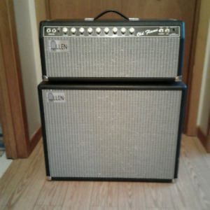 ALLEN OLD FLAME HEAD AND 2X12 CABINET