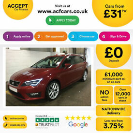 Seat Leon FROM £45 PER WEEK!