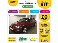 SEAT LEON 1.4 ECOTSI FR TECHNOLOGY 2.0 TDI SE BUSINESS FROM £45 PER WEEK!