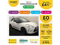 Citroen DS3 CITROEN DS3 DSTYLE DSPORT PLUS DSIGN 1.6 FROM £41 PER WEEK!
