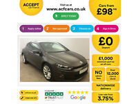 Volkswagen Scirocco GT FROM £98 PER WEEK!