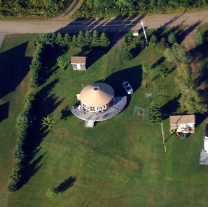 Yurt for sale!!!! Water Front in Upper Rexton!!!