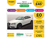 Audi A3 Black Edition FROM £45 PER WEEK!